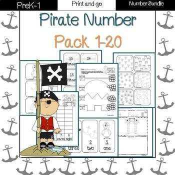 Pirate numbers! (1-20)