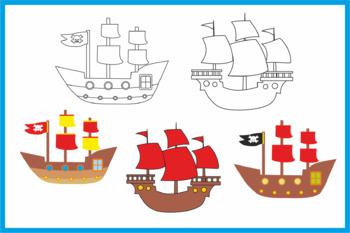 Pirate's Clip art