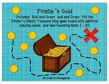 Pirate's Gold Math Centers