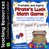 Pirate's Luck Math Facts Game - Google Slides and Printabl