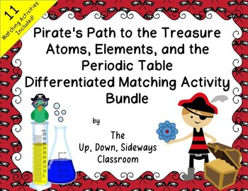 Pirate's Path to the Treasure- Atom, Elements, and Periodic Table Matching Act