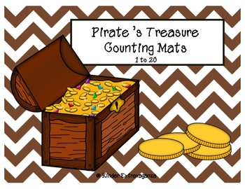 Pirate's Treasure Counting Mats