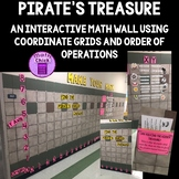 Pirate's Treasure Interactive Math Bulletin Board Using Order of Operations