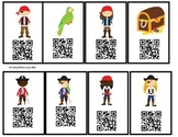 Pirate theme Upper Elementary School Behavior QR codes