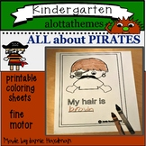 Pirate theme-all about  KINDERGARTEN