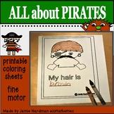 Pirate theme AHOY matey!!!  KINDERGARTEN (freebie)