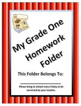 Pirate theme homework cover