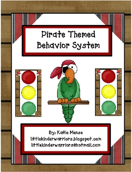 Pirate theme stoplight behavior management system