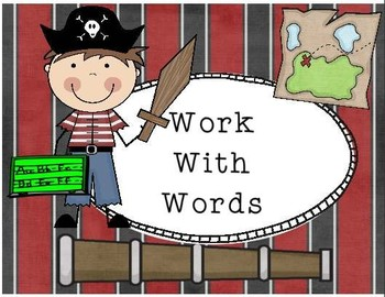Pirate themed Daily 5 literacy posters