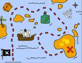Pirate-y Meet Your Teacher Map Kit