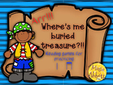 Find Me Buried Treasure: Two Games for Practice ta ti-ti in the Music Room