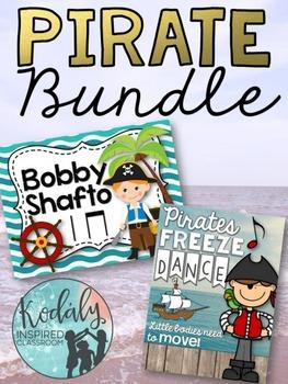 Pirate Bundle (Bobby Shafto plus Pirate Freeze Dance)