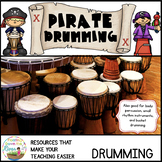Pirate Bucket Drumming