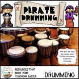 Pirate Bucket Drumming