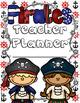 Pirate Teacher Lesson Planner, Grade Book, and Calendar