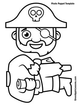 Pirate Craft | Pirate Activity | Pirates Kindergarten | Pirates Preschool