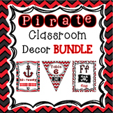 Pirate Classroom Theme
