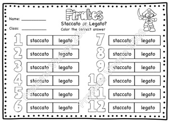 Pirates! A Fly-Swatting Game to Practice Staccato and Legato