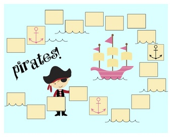 Pirates! A Sight Word Reading Game