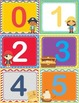 Pirate Theme ABC/123 Number and Letter Cards Shelf Labels