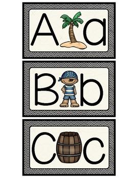 {Pirates} ABC Match