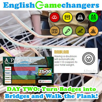 Pirates AND Plastic Straw Bridges: Growth Mindset Back-to-School BUNDLE!