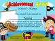 Pirates Achievement Award English & Spanish version Editable!!!