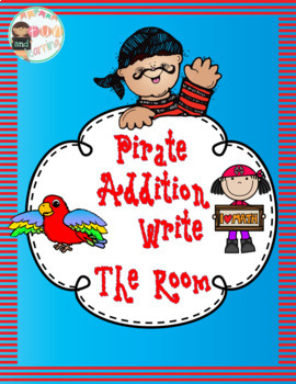 Pirates Addition Write the Room