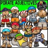 Pirates – Adjectives Clip Art Bundle {Educlips Clipart}