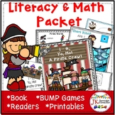 Pirate Theme Literacy and Math Activities Packet