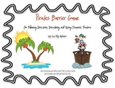 Pirates for Following Directions, Describing and Using Semantic Features