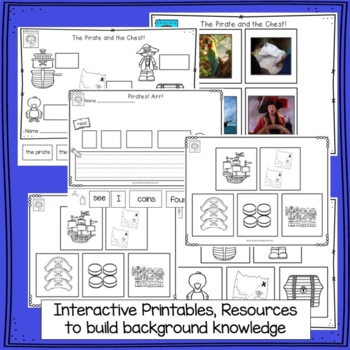 Pirates! Beginning Readers for Guided Reading
