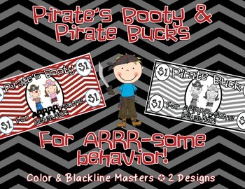 Pirate's Booty & Pirate Bucks for ARR-some behavior