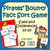 Addition and Subtraction Game, 10 - 20 : Pirates' Bounty F
