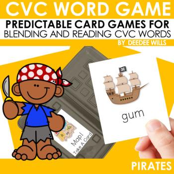 Pirates!   CVC Game FREEBIE