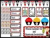 Pirates Calendar Set and  Classroom Decorations