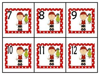 Pirates Calendar Set and Classroom Decorations {Spanish Version}