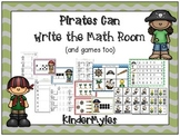 Pirates Can...Write the Math Room {& Games, too}