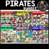Pirates Clip Art Big Bundle {Educlips Clipart}