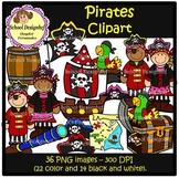 Pirates Clip Art (School Designhcf)