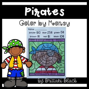 Pirates~ Color by Code