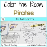Pirates Color the Room