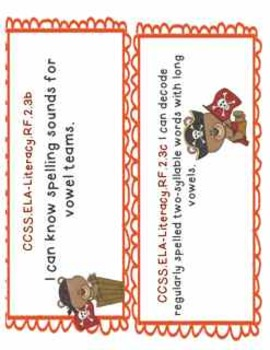 2nd Grade Common Core Objectives: I CAN Posters Literacy P