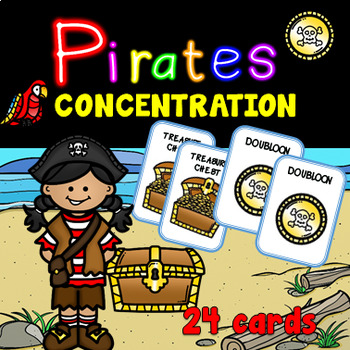 Pirates Concentration