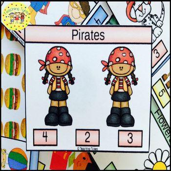 Pirates Task Cards