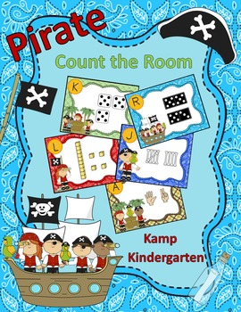 Pirates Count the Room Numerals to 20