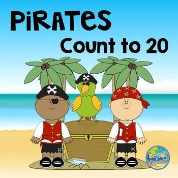 Pirates Count to 20--Rrrrrrrrrrrrr!