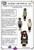 Pirates - Description Matching Work - English