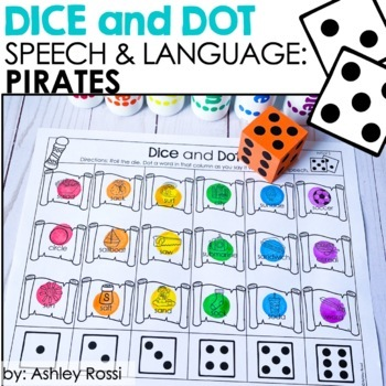 Pirates! Dice & Dot For Speech & Language