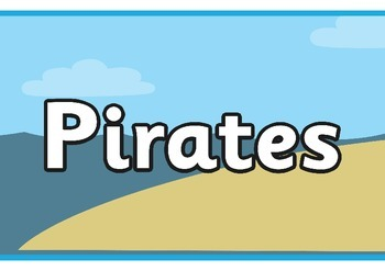 Pirates Display Banner